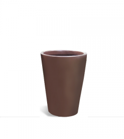modern-round-taper-planter-FosterPlants